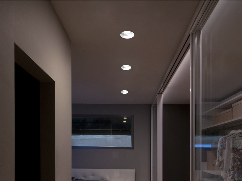 LED recessed aluminium spotlight HOLE | Spotlight - GLIP by S.I.L.E