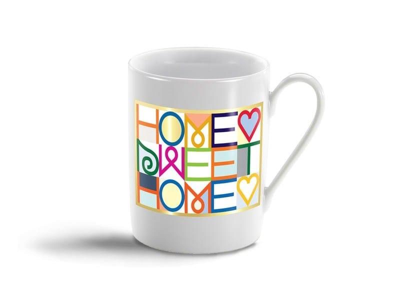 Porcelain espresso cup HOME SWEET HOME MUG - Vitra