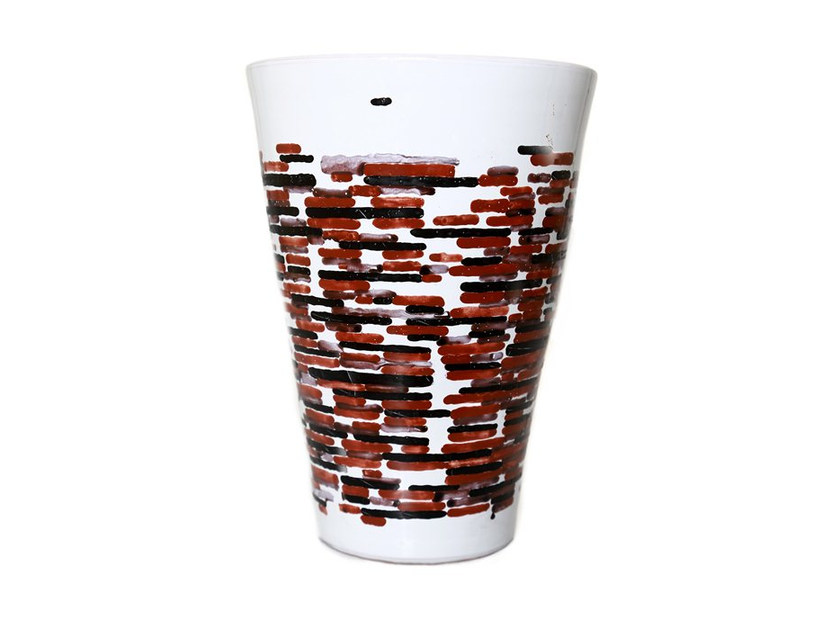 Ceramic vase HORIZONTAL I - Kiasmo