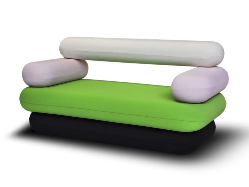 Sectional fabric sofa HOT DOG | Sofa - Paolo Castelli