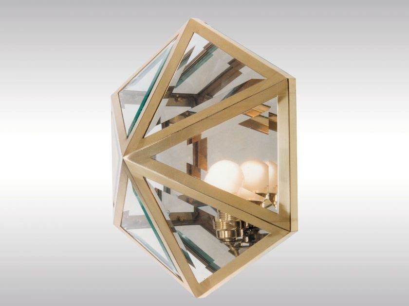 Classic style wall lamp HSP3 - Woka Lamps Vienna