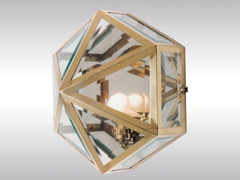 Classic style wall lamp HSP4 - Woka Lamps Vienna