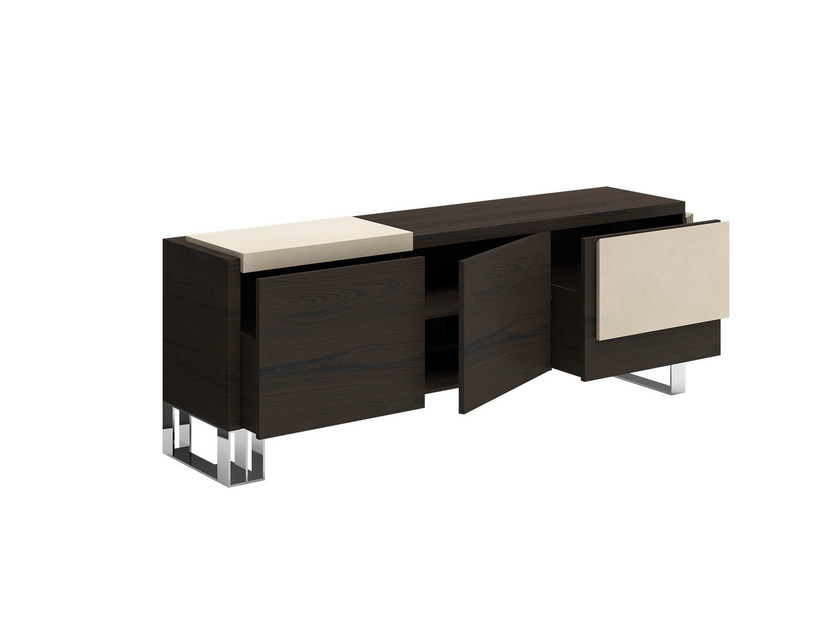 Solid wood sideboard with doors HUG XL - Capital Collection by Atmosphera