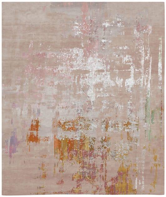 Handmade rectangular rug HULTANGEN by HENZEL STUDIO