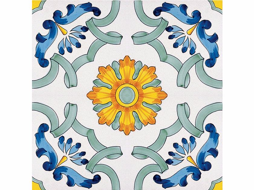 Rivestimento / pavimento in ceramica I GRANDI CLASSICI MARIATERESA - CERAMICA FRANCESCO DE MAIO
