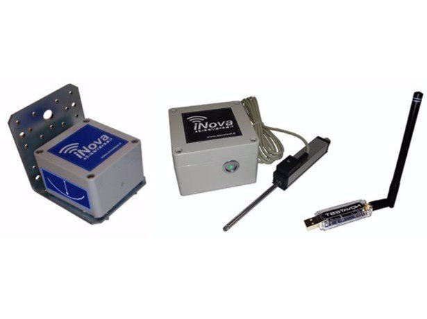 Monitoring system and wireless data acquisition iNOVA NETWORK - NOVATEST