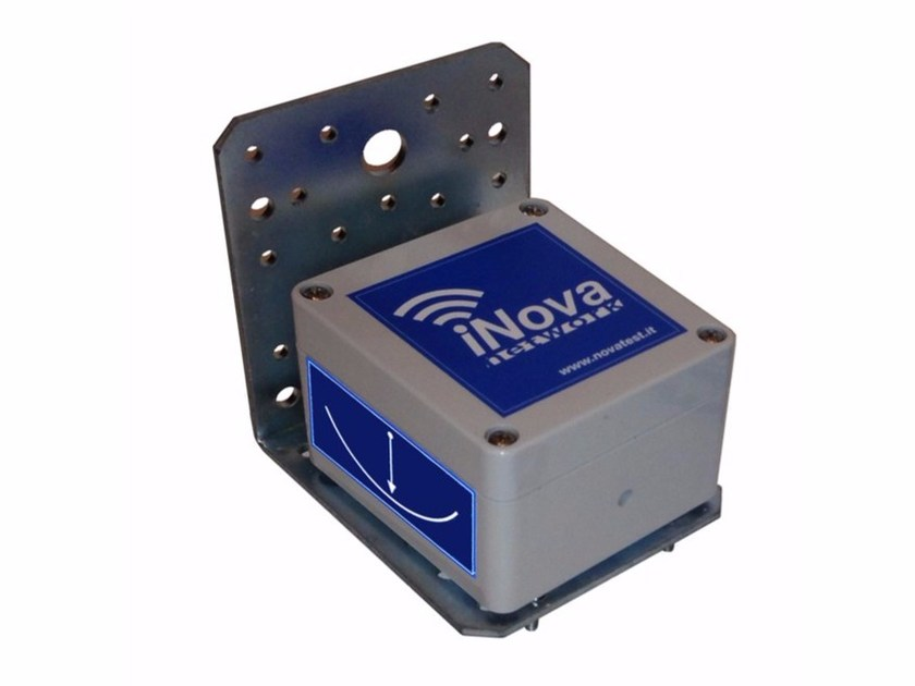 Inclinometer wireless uniaxial (or biaxial) iNova MEMS 1AX / 2AX by NOVATEST