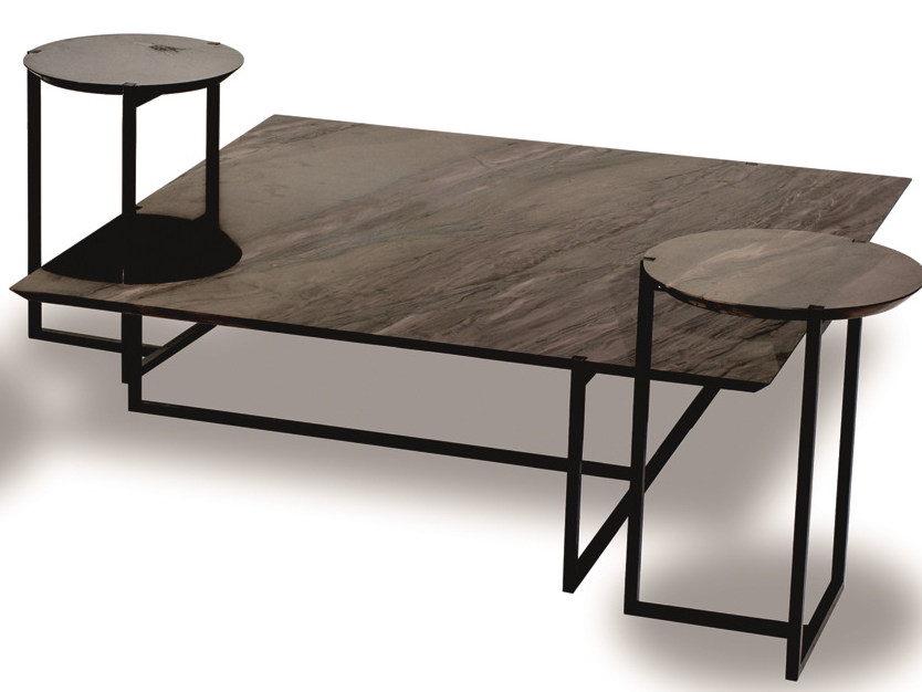 Square marble coffee table ICARO | Square coffee table - BAXTER