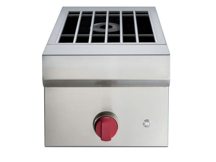 Piano cottura a gas da incasso in acciaio inox icbbm13 cucina da esterno wolf - Piano cottura da esterno ...