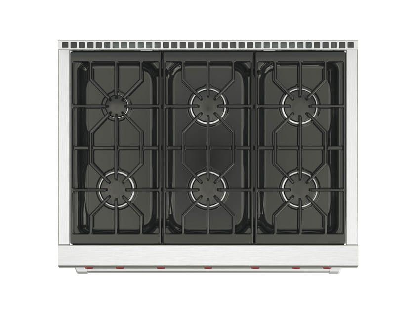 Cucina a libera installazione professionale in acciaio inox ICBDF364/366 | Cucina a libera installazione by Sub-Zero