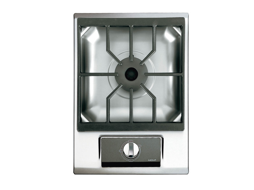 Gas built-in single stainless steel hob ICBIM15/S DOMINO | Hob - Sub-Zero Group