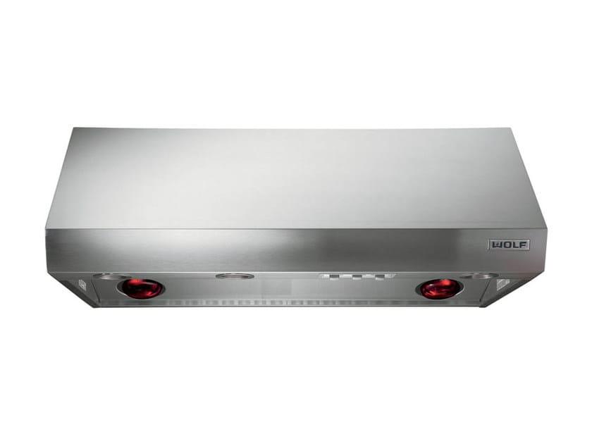 Cappa in acciaio inox con illuminazione integrata ICBPW60/48/42/36 2718 | Cappa a parete - Sub-Zero Group