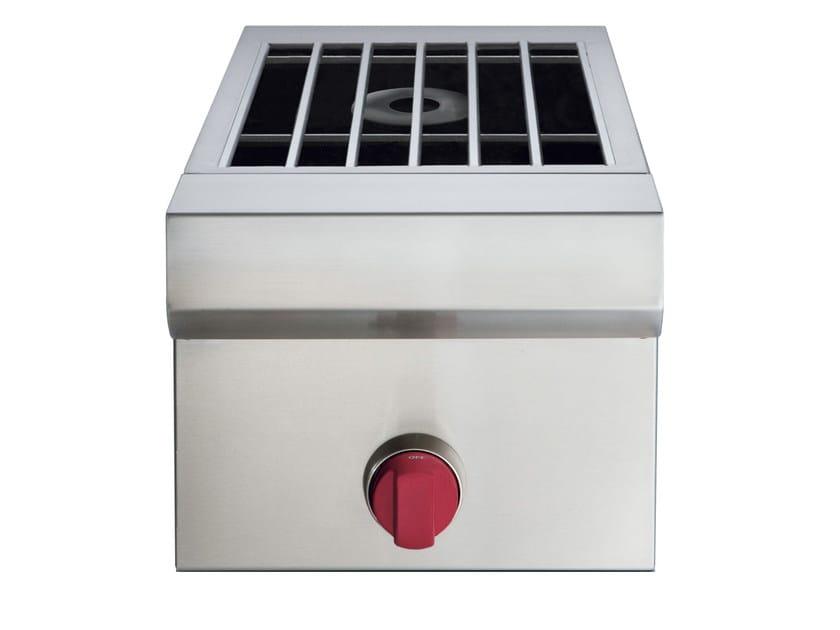 Piano cottura a gas da incasso in acciaio inox icbsb13 cucina da esterno sub zero - Piano cottura da esterno ...