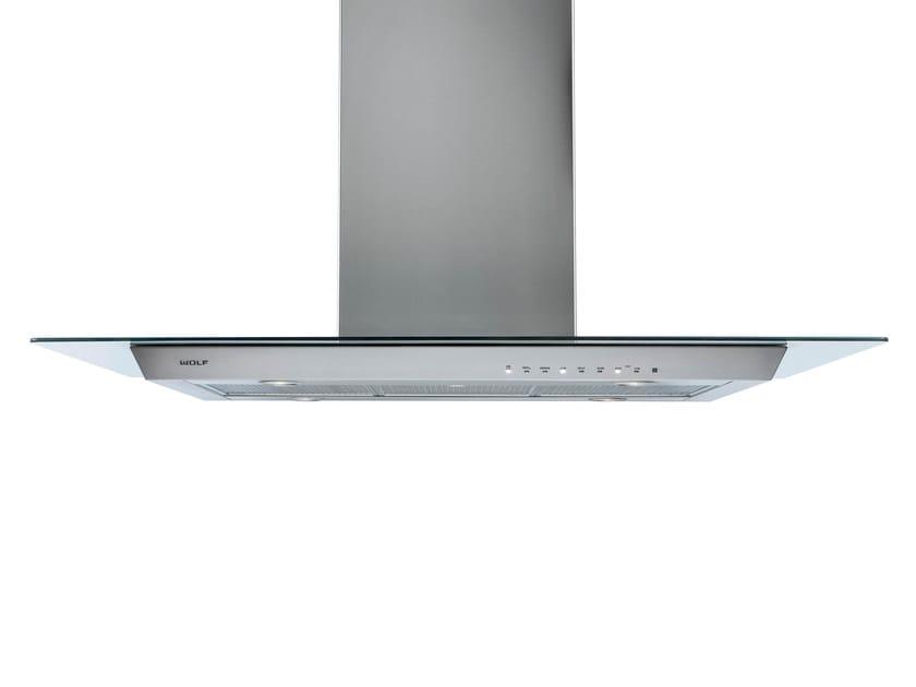 Cappa a schermo piatto in acciaio inox in stile moderno a parete con illuminazione integrata ICBVW 36/45 G | Cappa a parete - Sub-Zero Group