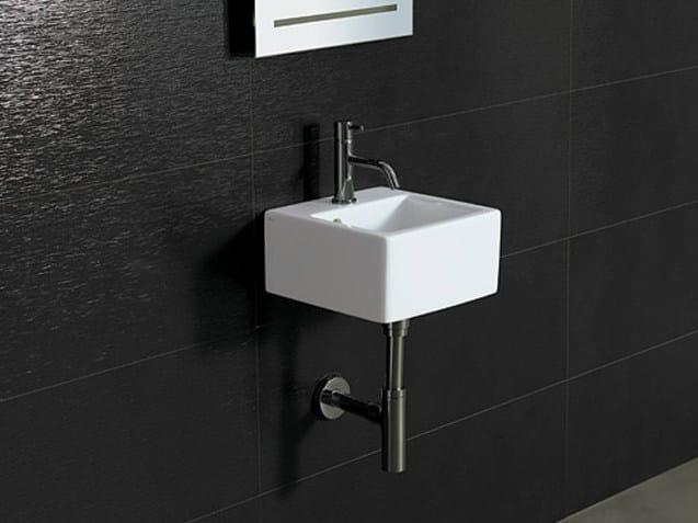 Square ceramic washbasin ICE 30X30 - Alice Ceramica