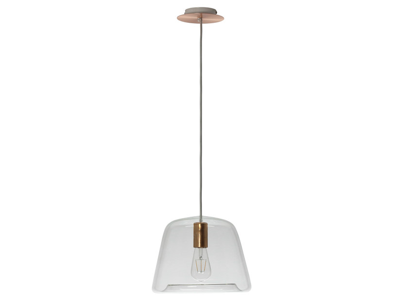 LED glass pendant lamp ICE CHIC - Hind Rabii
