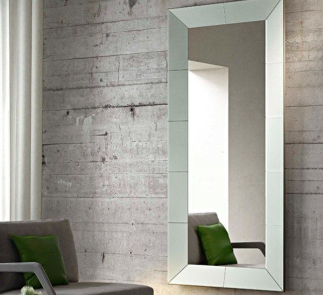 Framed mirror ICEBERG | Rectangular mirror - RIFLESSI
