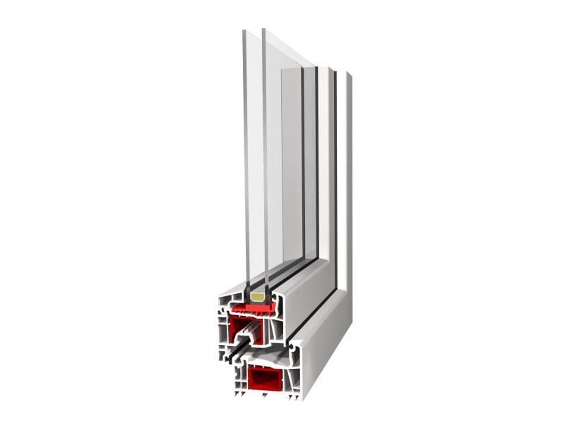 PVC casement window IDEAL 5000 (SL, RL) by EKO-OKNA
