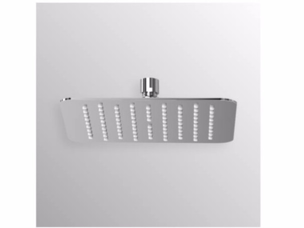 Ceiling mounted stainless steel rain shower IDEALRAIN LUXE - B0389 - Ideal Standard Italia