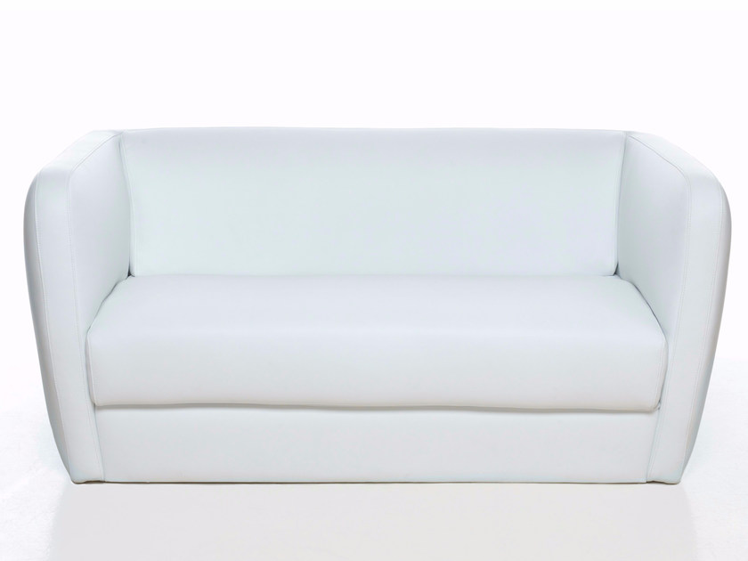Leather small sofa IG 2 - Paolo Castelli