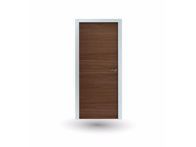 Hinged wooden door IKI 87G ROVERE TABACCO - GD DORIGO