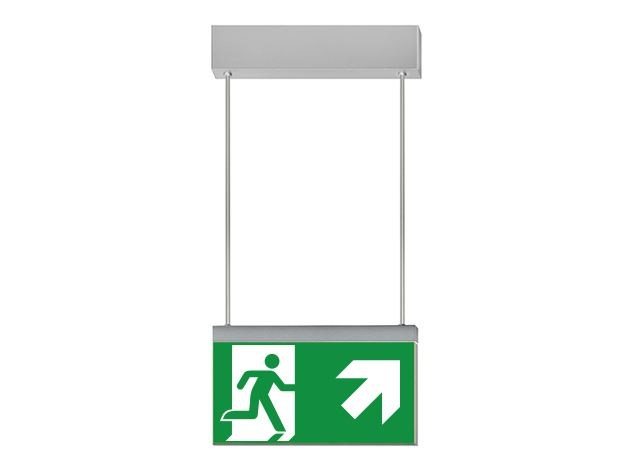 LED suspended emergency light IKUS 2211-S - DAISALUX