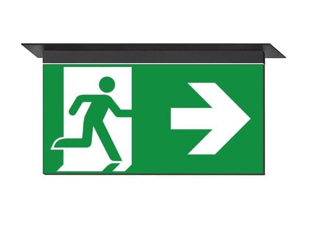 LED emergency light for signage IKUS-M - DAISALUX