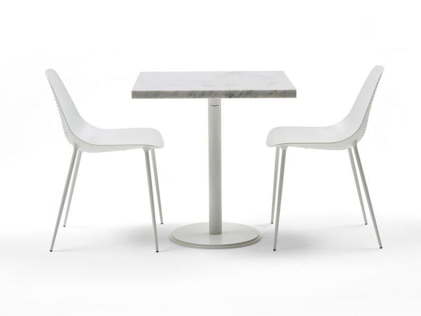 Square marble table ILTAVOLO CAFFÉ | Marble table by Opinion Ciatti