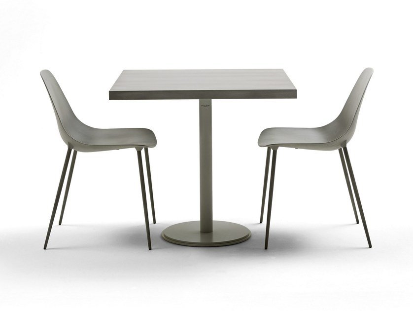 Square steel table ILTAVOLO CAFFÉ - Opinion Ciatti