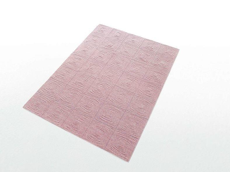 Rectangular rug with geometric shapes IMPERFETTO - Paola Lenti
