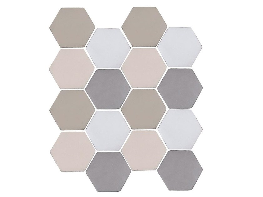 Indoor faïence wall tiles IMPRESSIONI MIX PACK.3 by Danilo Ramazzotti