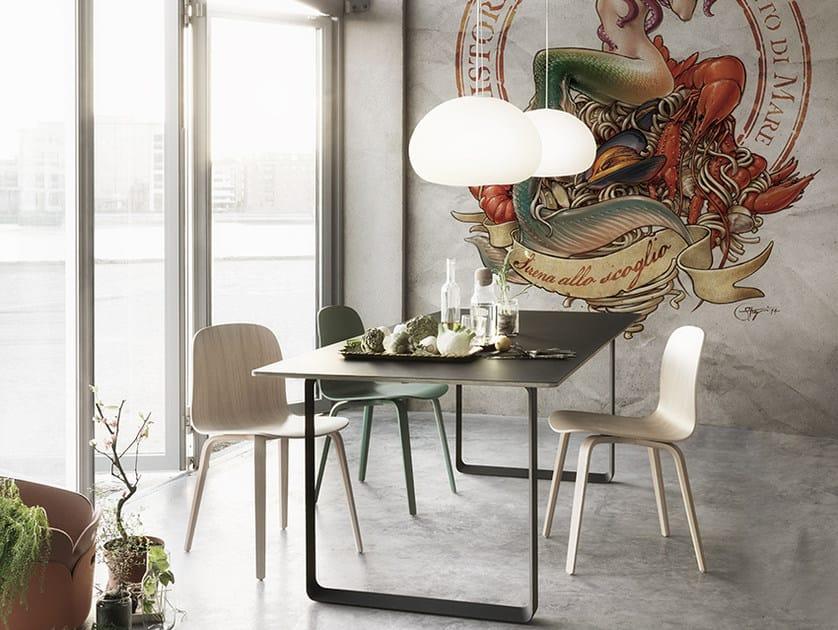 Panoramic wallpaper INCANTO DI MARE - Inkiostro Bianco