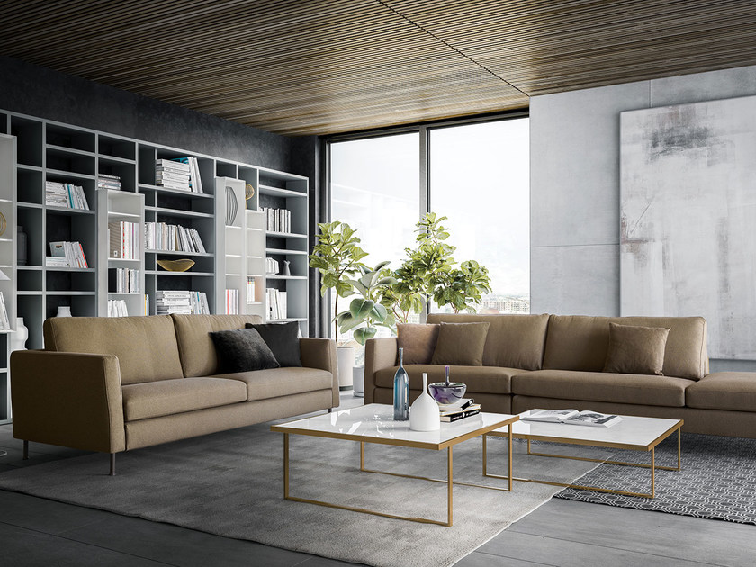 Contemporary style upholstered fabric sofa INCONTRO | Fabric sofa by PIANCA