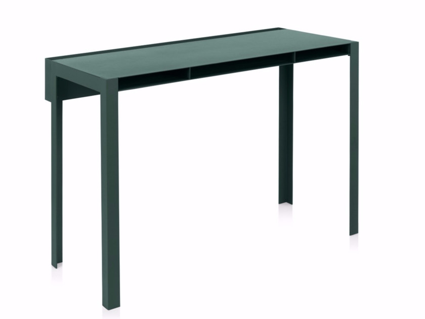 Powder coated steel console table INDEX by NOMESS COPENHAGEN