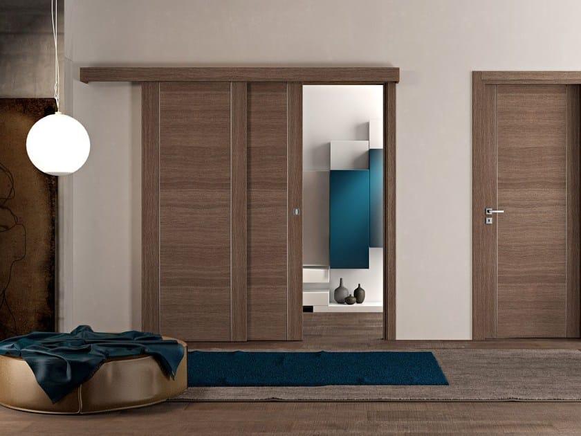 Wooden sliding door INF | Sliding door - Pail Serramenti