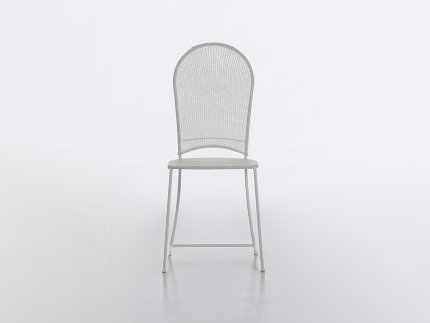 Steel and PVC garden chair INOUT 873 by Gervasoni