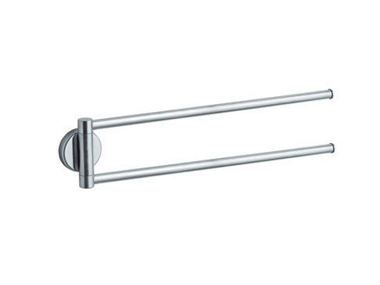 Swivel stainless steel towel rack INOX | Swivel towel rack - INDA®