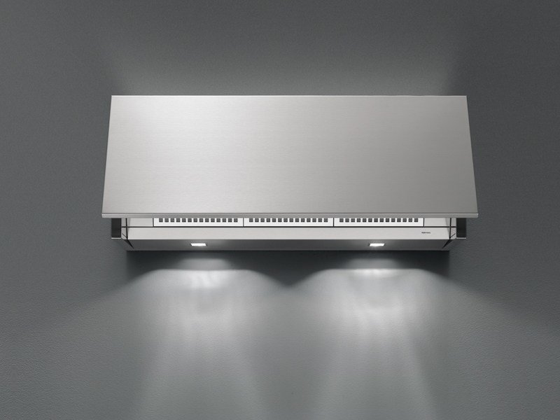 Wall-mounted stainless steel cooker hood INTEGRATA by Falmec