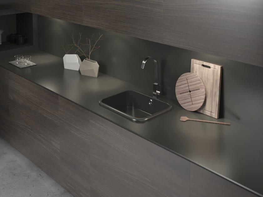 Silestone® kitchen worktop / sink INTEGRITY TOP by Cosentino