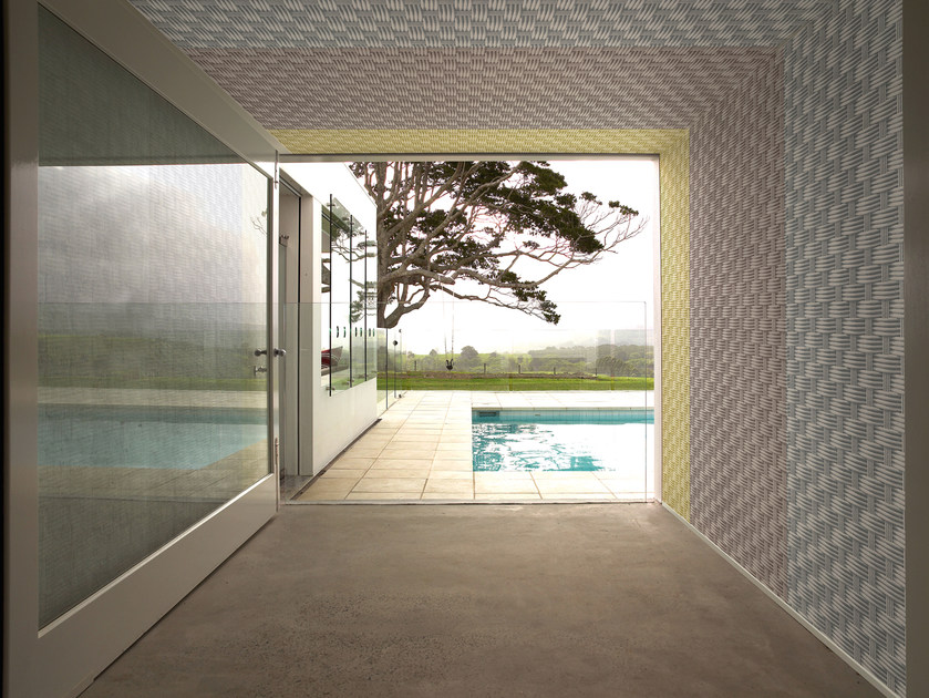 Motif outdoor wallpaper INTERSECTIONS - Wall&decò