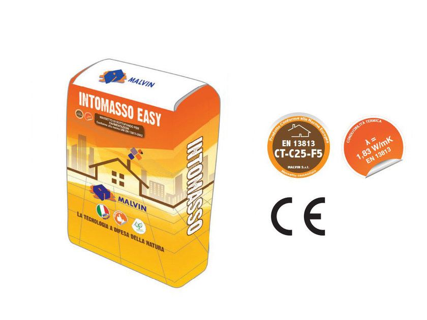 Self-levelling screed INTOMASSO EASY by malvin