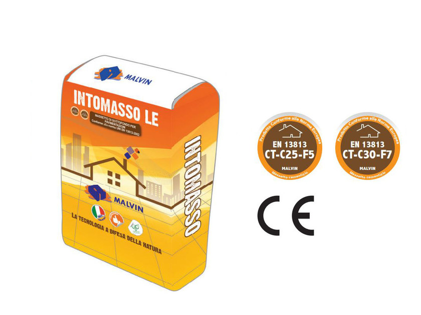 Pre-mixed screed INTOMASSO LE by malvin