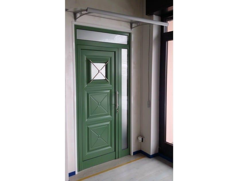 Glass and aluminium armoured door panel IRIS/K1 - ROYAL PAT