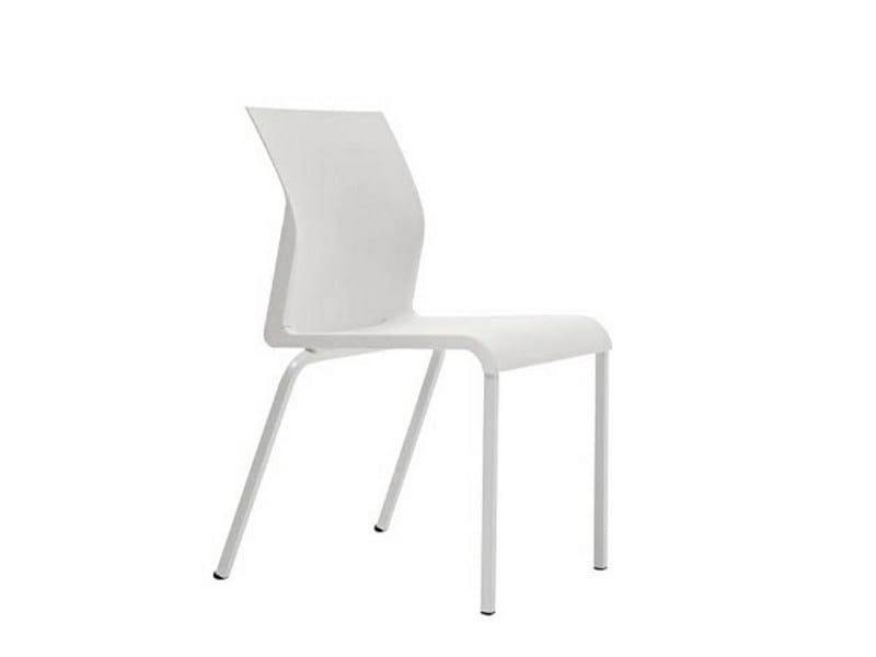 Stackable polypropylene chair IRON S0945 - Segis