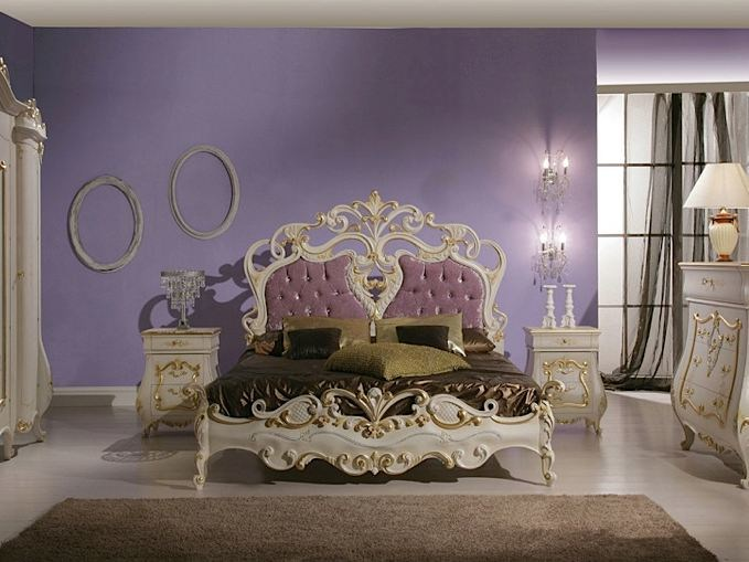 Double bed with tufted headboard ISABEL | Bed - Arvestyle