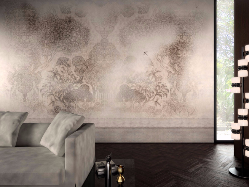 Motif washable vinyl wallpaper ISCHIA - GLAMORA
