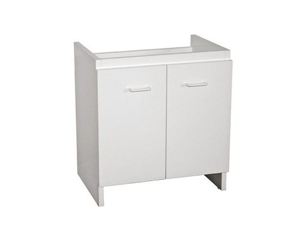 Laundry room cabinet with hinged doors ISIDE 75 | Laundry room cabinet - GALASSIA