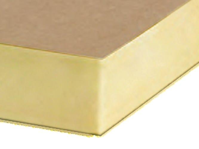 Polyurethane thermal insulation panel ISO-PIR MM - Imper Italia