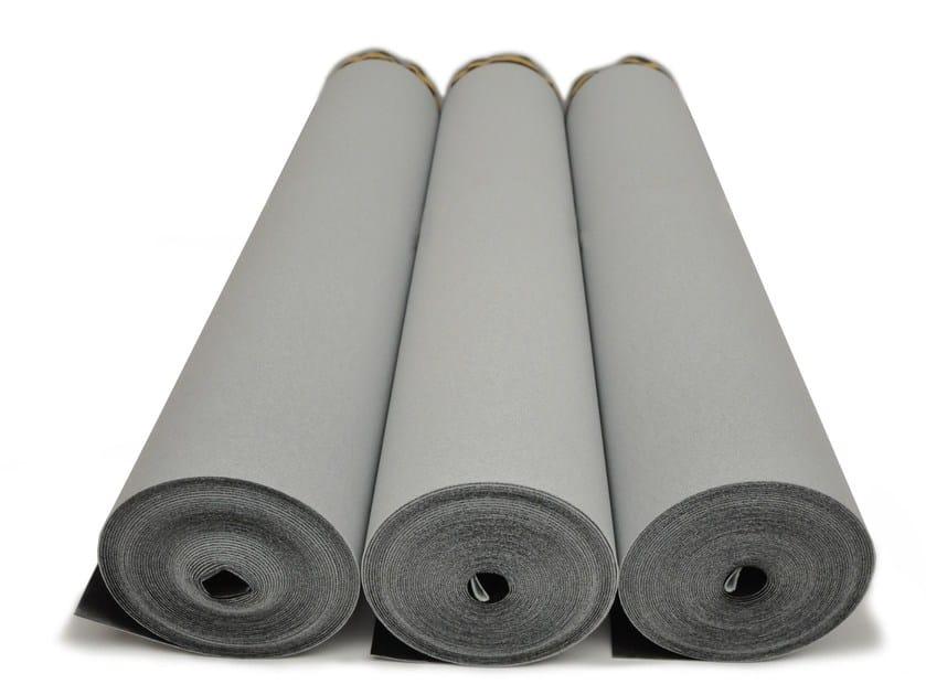 Polyethylene Impact insulation system ISOLDRUM HD - Isolmant - TECNASFALTI