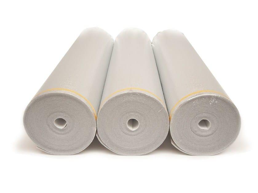 Polyethylene Impact insulation system ISOLDRUM SILVER - Isolmant - TECNASFALTI